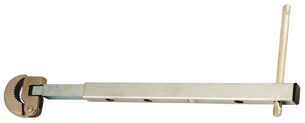 PROPLUS TELESCOPIC BASIN WRENCH, 9 IN. TO 15 IN.