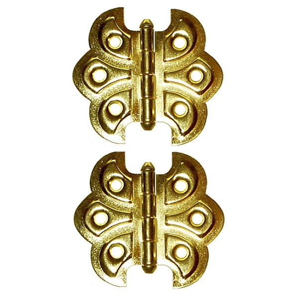 Ornamental Embossed Full Surface Hinges, Style D