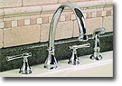 Torino Single Widespread Kitchen Faucet