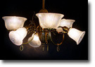 SOLD! Original Up-Light / Down-Light Chandelier - 6 Light