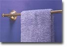 St. Lawrence Brass Towel Bar