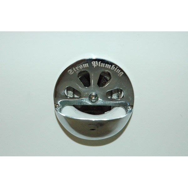 Overflow Plate With Stopper Holder