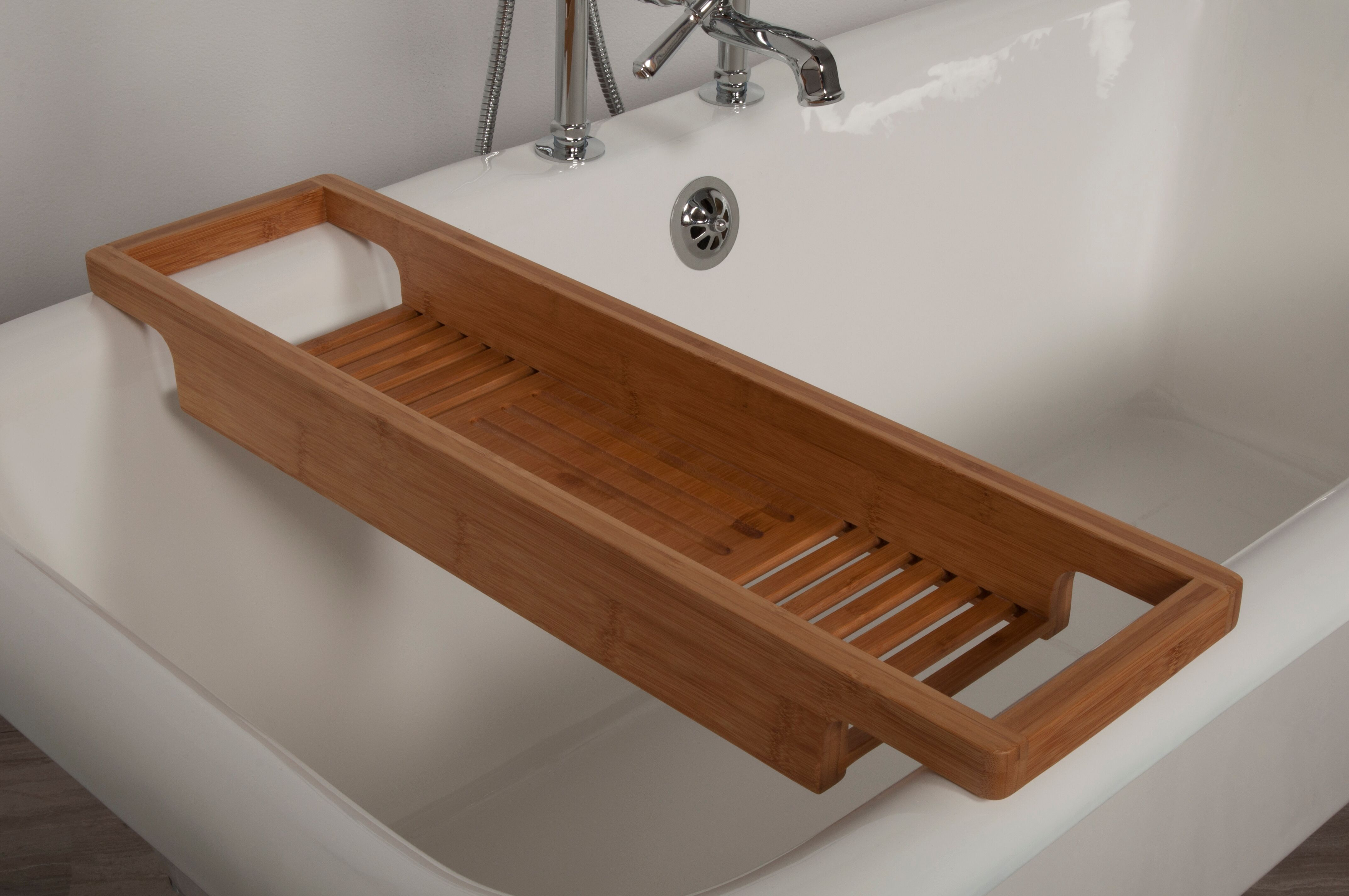 Bamboo Tub Shelf