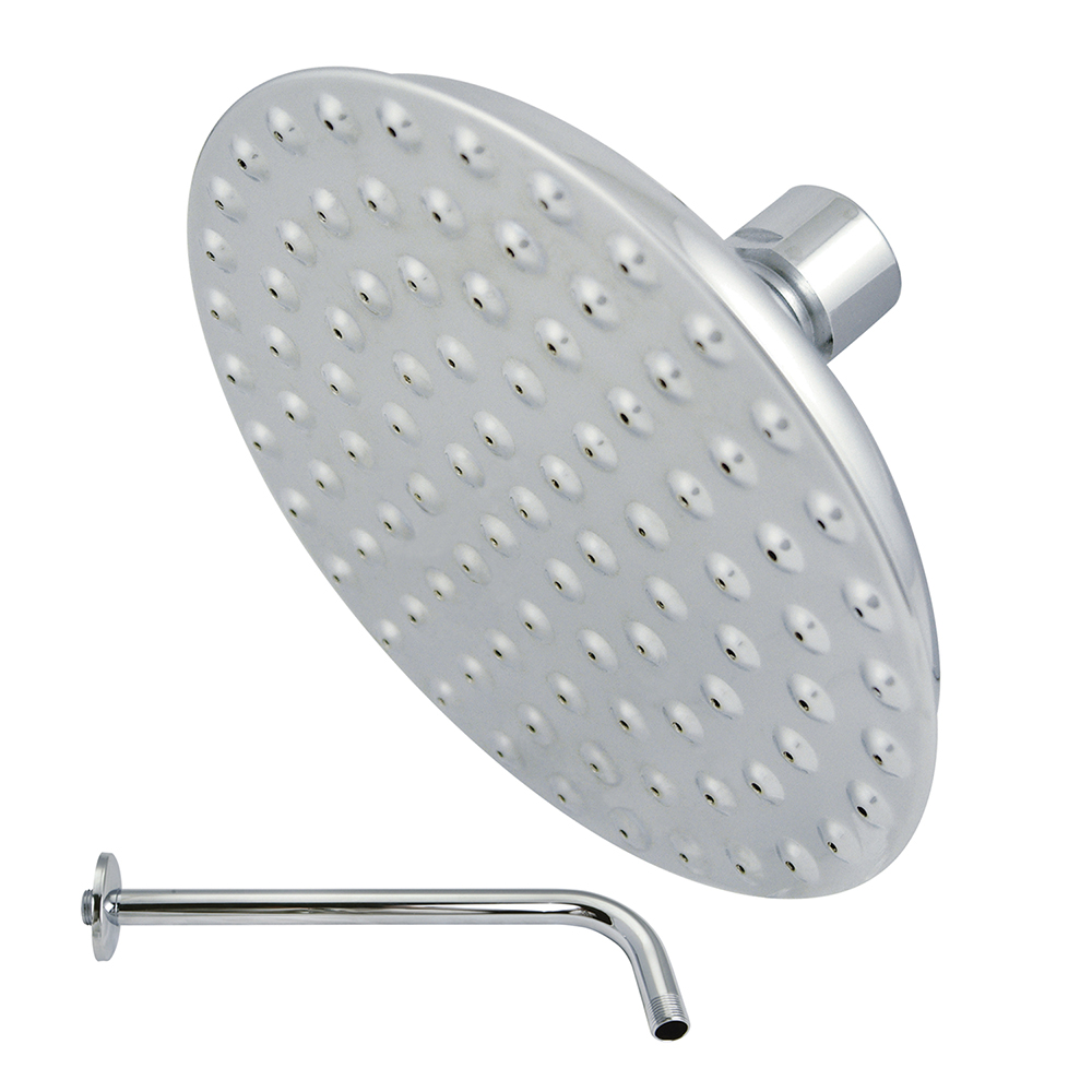 5 1/4 inch Showerhead With Shower Arm, Polished Chrome