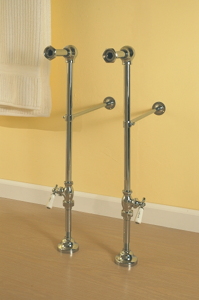 Free Standing Leg Tub Supply Set