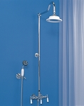 Wall Mount Shower Set w/ Handheld Shower