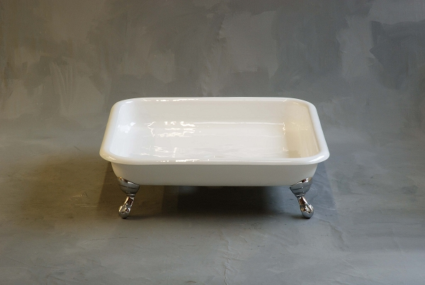 Panorama Claw Foot Cast Iron Shower Pan