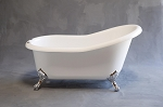 Huron 5 Foot Acrylic Slipper Tub