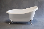 Huron 5 foot Acrylic Slipper Tub, Non-drilled