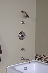 In-Wall Thermostatic Tub & Shower Set
