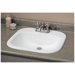 Ibiza Drop In Basin Bathroom Sink