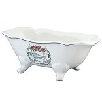 Savon Superfins 8″ Slipper Clawfoot Bath Tub Decorative Soap Dish