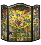 Butterfly Fireplace Screen