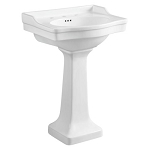 Small Porcelain Pedestal Sink