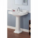 Antique Pedestal Lavatory Sink