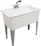 36 Gallon Floor-Mount Combo Utility Sink