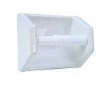 Ceramic Slip on Clip Toilet Tissue Holder