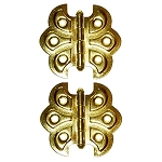 Ornamental Embossed Full Surface Hinges, Style B