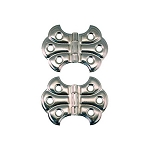 Ornamental Embossed Full Surface Hinges, Style F