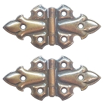 Ornamental Embossed Full Surface Hinges, Style C
