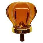 Glass Round Pull Knobs (Multiple Colors)