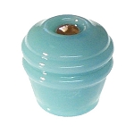 Glass Vintage Style Round Knobs - (Multiple Colors)