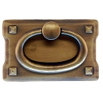 Mission Style Die Cast Drawer Ring Pull