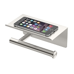 Tissue Holder with Cell Phone Shelf
