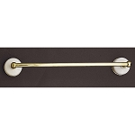 Sacramento Porcelain & Brass Towel Bar ( 3 Sizes )