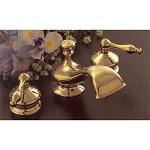 Thames Widespread Lavatory Faucet with Brass Lever Handles