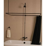 Wall Mount Shower Enclosure Set