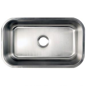 28-inch Stainless Steel Undermount Single Bowl Kitchen Sink