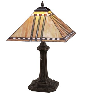 "19""H Prairie Corn Table Lamp"
