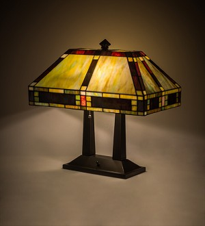 "20""H Chaves Oblong Table Lamp"