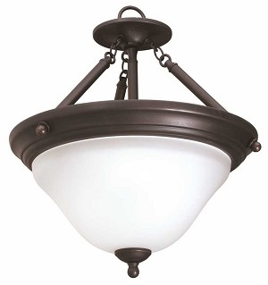 SONOMA 3-LIGHT PENDANT FIXTURE, OIL RUBBED BRONZE