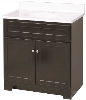 FOREMOST COLUMBIA 31 INCH VANITY COMBO IN ESPRESSO