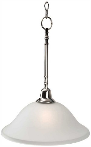SONOMA 1-LIGHT PENDANT FIXTURE, BRUSHED NICKEL