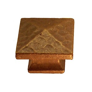Mission Style Pyramid Cabinet/Drawer Knob