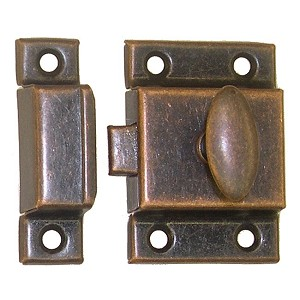 Cabinet Door Latch, Utility, Large