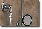 Wallmount Handheld Shower with Brass Handle