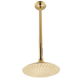 Victorian 8 inch Diameter Raindrop Showerhead with 91 Water Channels
