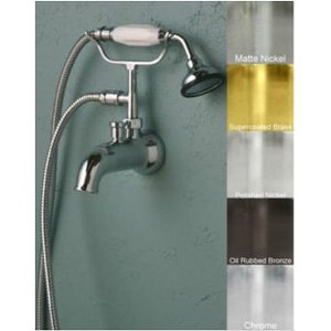 Tub Spout With Diverter And Handheld Shower