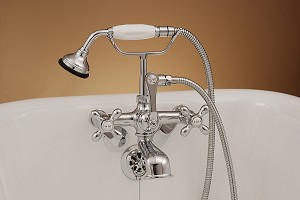 British Telephone Leg Tub Faucet