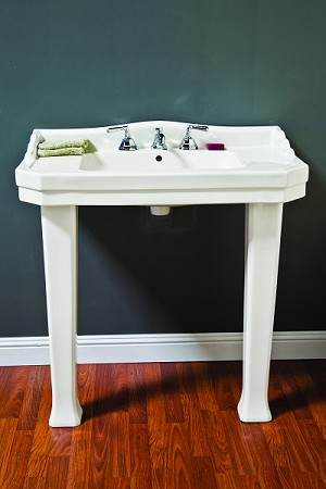 Console Sink with Legs