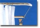 L-Shape Shower Curtain Bar