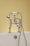 Deck Mount British Telephone Tub Faucet with Couplers