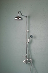 Wall Mount Thermostatic Shower Set with Handheld Shower
