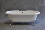 Arcadia 5 1/2 foot Acrylic Dual End Tub, Non-drilled