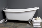 Folsom 5 1/2 foot Acrylic Slipper Tub, Non-drilled