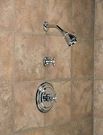 Thermostatic In-wall Shower Set